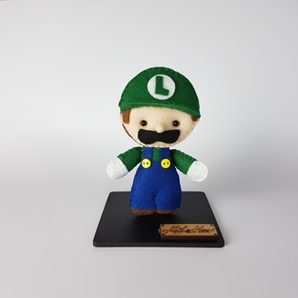 Chaveiro / Toy Art - Luigi
