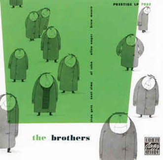Stan Getz and his four Brothers - The Brothers LP (excelente estado)