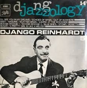 Django Reinhardt - Jazzology vol. 14 LP (ver fotos)