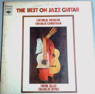George Benson, Charlie Christian e outros - best on jazz guitar LP