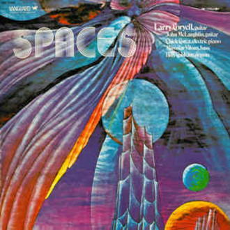 Larry Coryell, John McLaughlin e outros - Spaces LP (ex. estado)