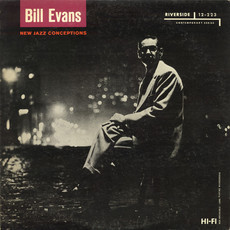 Bill Evans - New jazz conceptions LP (excelente estado)