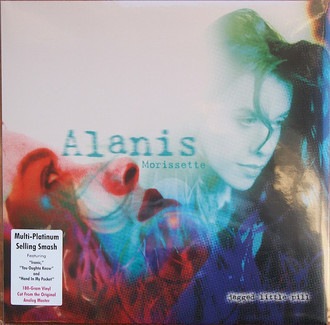 Alanis Morissette LP - Jagged Little Pill LP (novo/lacrado/180g)