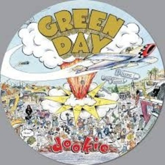 Green Day - Dookie LP (picture disc/novo/lacrado)