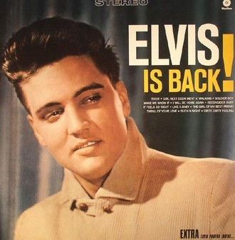 Elvis Presley - Elvis is back!: 80th anniversary LP (novo/lacrado)