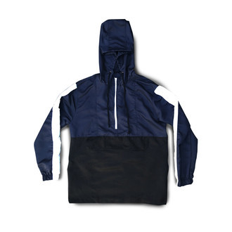 Anorak Black and Blue