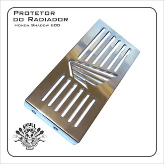 Protetor Do Radiador Shadow 600 Honda.