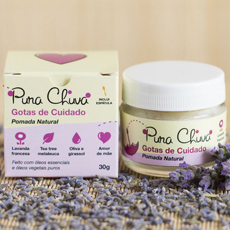 Pomada natural Lavanda e Tea Tree Pura Chuva
