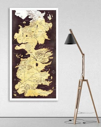 Mapa de Westeros - Game of Thrones