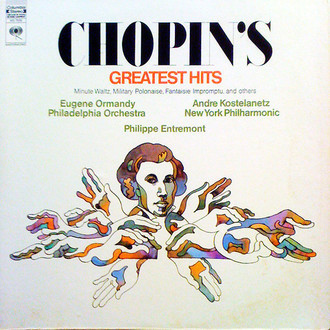 Frédéric Chopin - Chopin's Greatest Hits LP (importado USA)