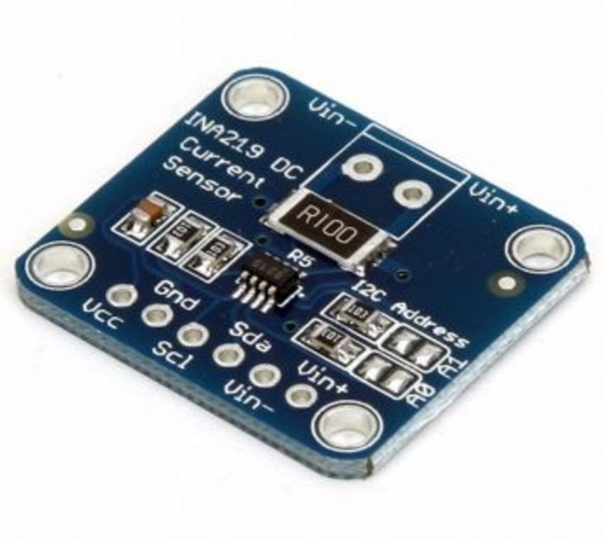 Sensor De Corrente De Alta Precisão Dc Ina219 I2c - AF Eletrônica