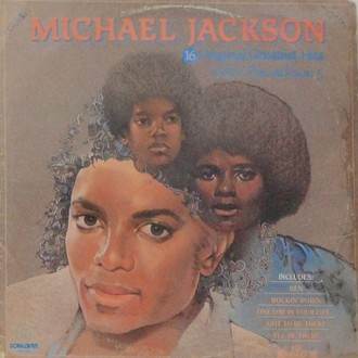 The Jackson 5 - Michael Jackson: 16 greatest hits with Jackson 5 LP