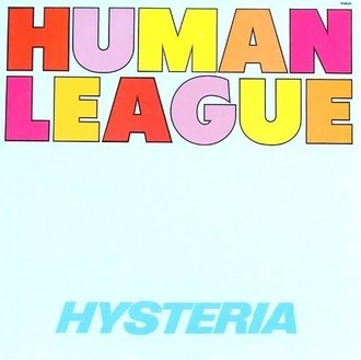 Human League - Hysteria LP (excelente estado)
