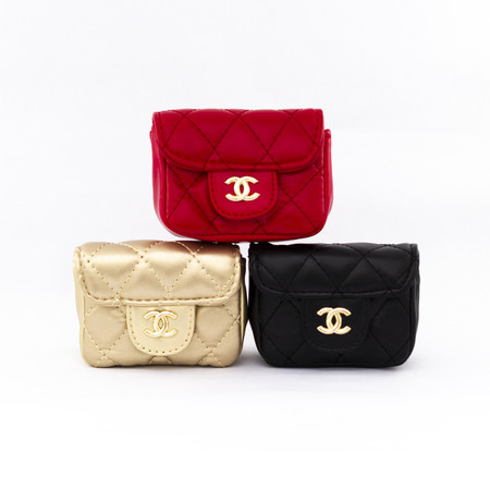 2bb8fe4cd Mini Bolsa Chanel Inspired Design Ultra Baby P99