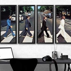 Mosaico de Quadros - Beatles Abbey Road