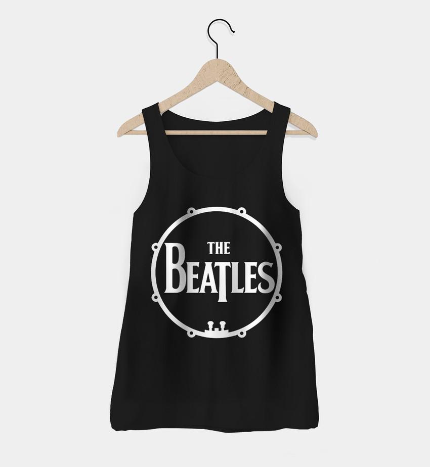 5f8392de61 Regata Feminina Beatles - Camisetas de rock