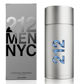212 Men Carolina Herrera Eau de Toilette - Perfume Masculino 100 ML