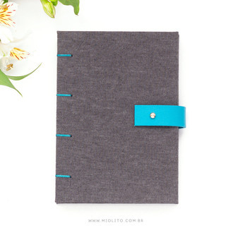 Sketchbook para Aquarela - Chambray + Azul