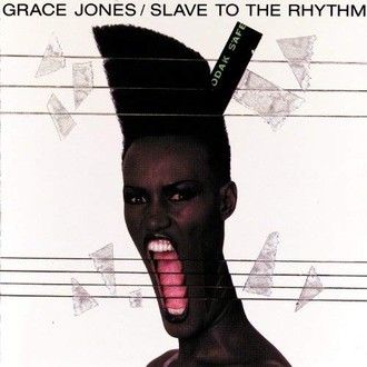 Grace Jones - Slave to the rhythm LP (excelente estado)