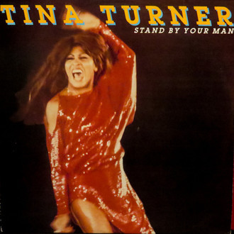 Tina Turner - Stand by your man LP (excelente estado)