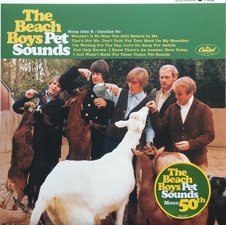 Beach Boys - Pet Sounds LP (novo/lacrado/remaster. mono)