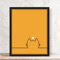 Quadro Decorativo - Cat Gato