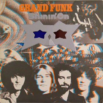 Grand Funk Railroad - Shinin' on LP (sem óculos 3D/ver fotos)