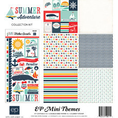 "KIT ECHO PARK 12""X12"" - EP MINI THEMES - SUMMER ADVENTURE"