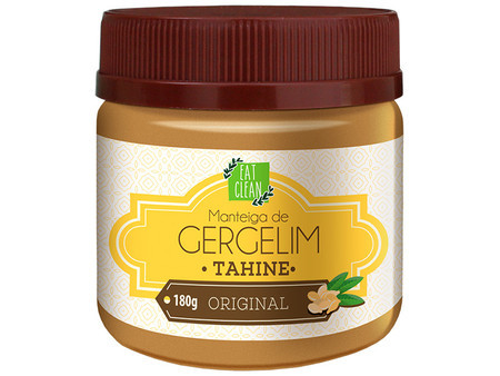 Manteiga de Gergelim Tahine Original (180g) - Eat Clean