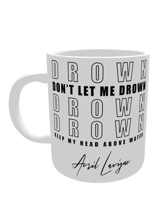 Caneca Avril Lavigne DROWN