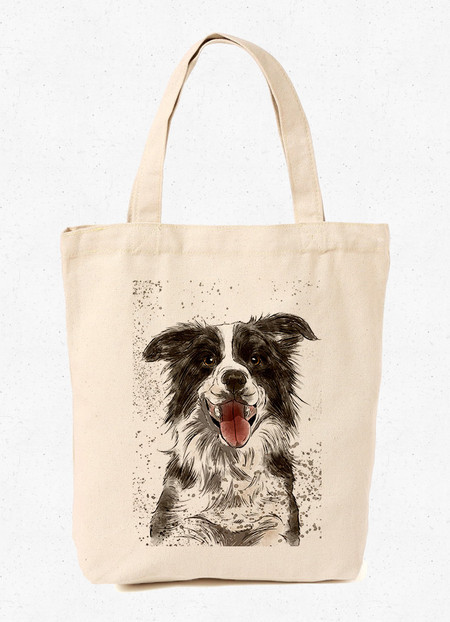 Ecobag Border Collie