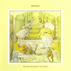 Genesis - Selling England by the pound LP (capa regular/ver fotos)