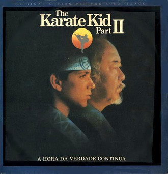 Karate Kid II - trilha sonora do filme LP