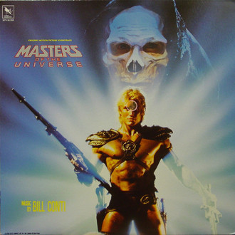 Masters of the Universe (He-Man) - trilha sonora do filme LP