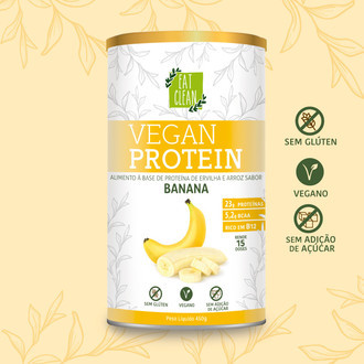 Vegan Protein Banana (450g) - Eat Clean
