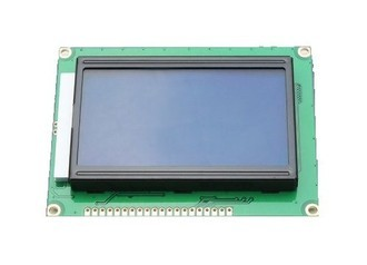 DISPLAY LCD GRAFICO 128X64 C/ BLACKLIGHT AZUL (L6)