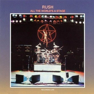 Rush - All the world's a stage LP duplo (ver fotos)