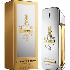 1 Million Lucky Paco Rabanne Eau de Toilette -Perfume Masculino 100ml
