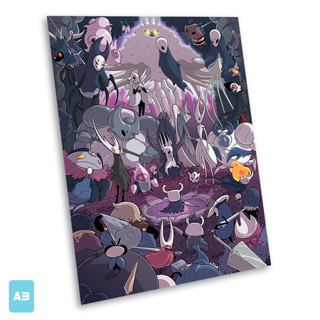 Print A3 - Hollow Knight