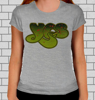 Camiseta Rock Feminina Yes