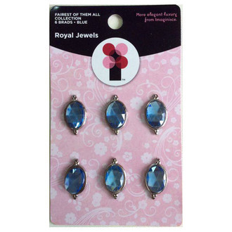 ROYAL JEWELS - BRADS IMAGINISCE - BLUE
