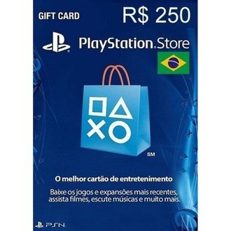 Gift Card Playstation Network (R$250)