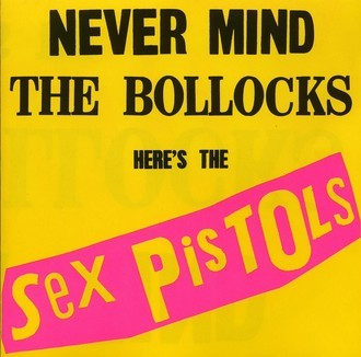 Sex Pistols - Never Mind the Bollocks LP (novo/lacrado/180g)
