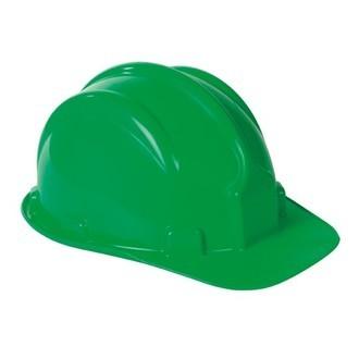 64ec1b9429f15 Capacete Verde Classe B com selo Inmetro + jugular de PVC PLASTCOR