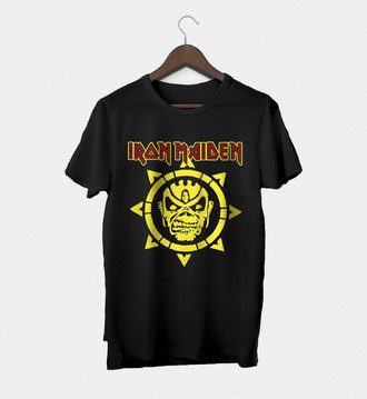 Camiseta Rock Masculina Iron Maiden