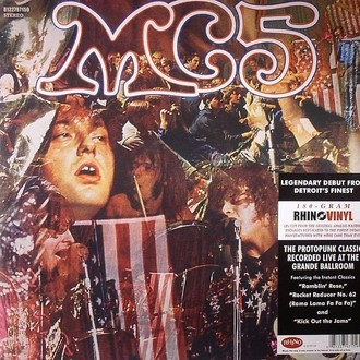 MC5 - Kick out the jams LP (novo/lacrado/180g)