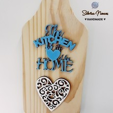The kitchen is the heart of the home