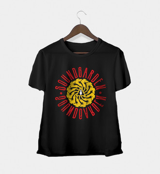 Camiseta feminina Soundgarden