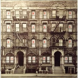 Led Zeppelin - Physical Graffiti LP duplo (nacional/capa vazada)