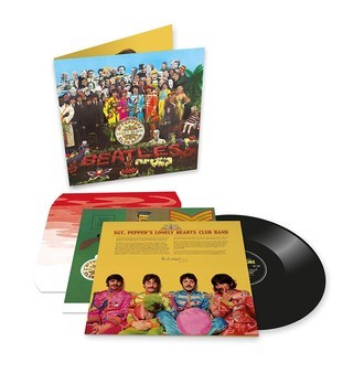 The Beatles - Sgt. Peppers '50th anniversary' LP (novo/mixagem 2017)